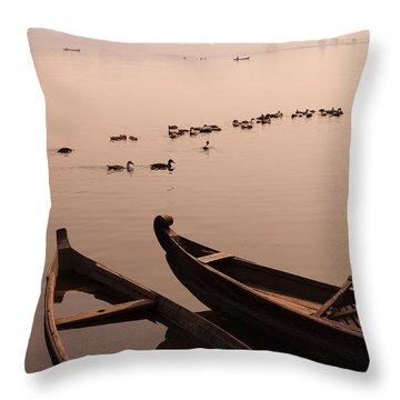 Sepia Dream Throw Pillow