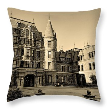 Sepia High Throw Pillow