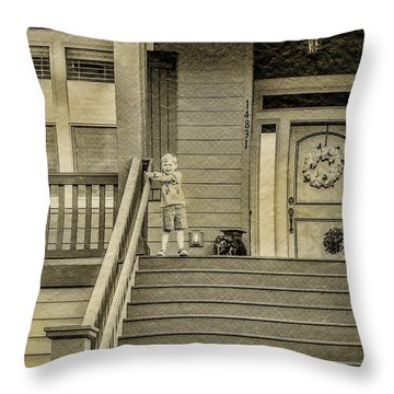 Sepia Throw Pillow by Photographic Art by Russel Ray Photos