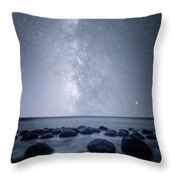 Throw Pillow featuring the photograph Septarian Concretions by Dustin LeFevre