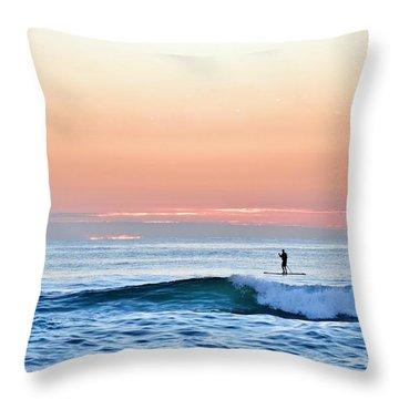 September 14 Sunrise Throw Pillow