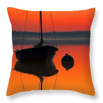 September Dreams Throw Pillow by Dianne Cowen