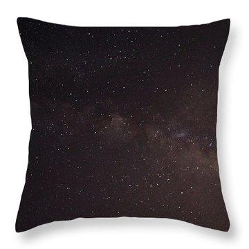 September Galaxy I Throw Pillow