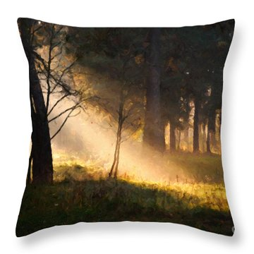 September Impressions Throw Pillow