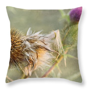 September Missed Throw Pillow