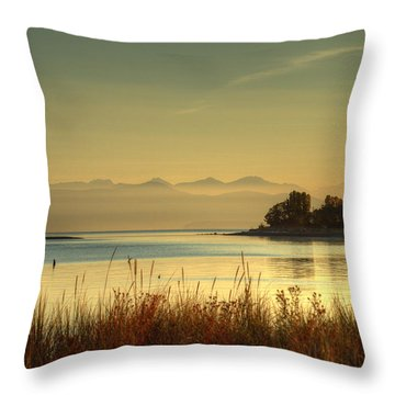 September Morn Throw Pillow