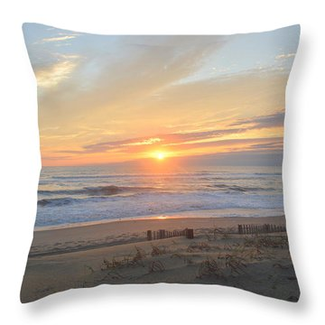 Throw Pillow featuring the photograph September Sunrise  30 by Barbara Ann Bell