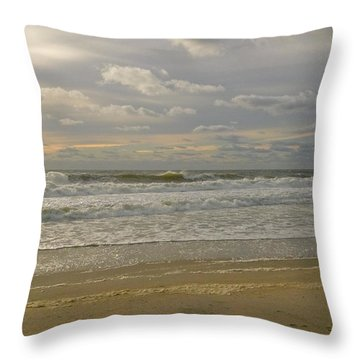 September Sunrise Throw Pillow