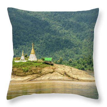 Throw Pillow featuring the photograph September by Werner Padarin