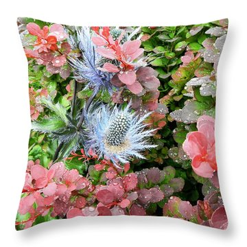 Bellingham Garden Throw Pillow