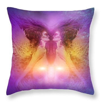 Seraphim Throw Pillow