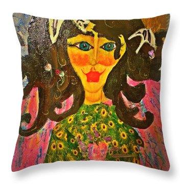 Seraphina Throw Pillow