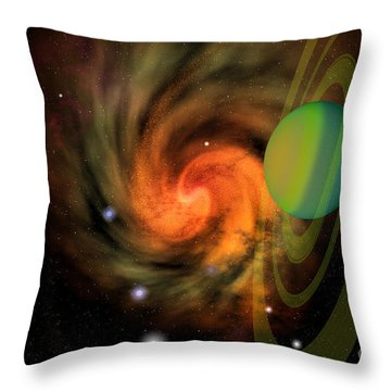 Serendipity Throw Pillow by Corey Ford