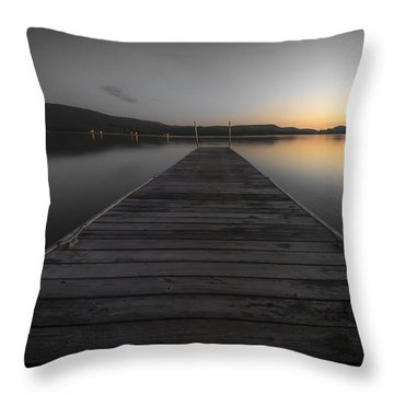 Serene Lake 2 Throw Pillow