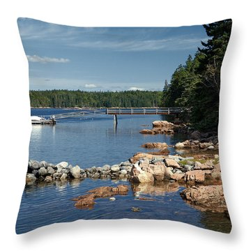 Serene Throw Pillow