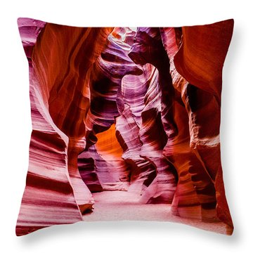 Serene Light Throw Pillow