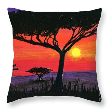 Kalahari  Throw Pillow