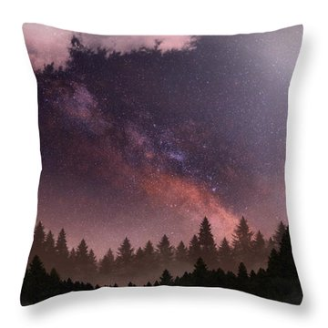 Serenity Throw Pillow by Anthony Citro