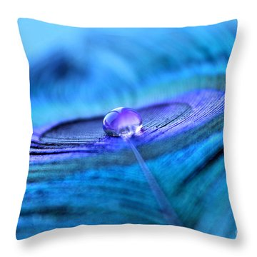 Serenity Begins Throw Pillow