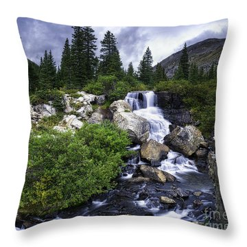 Throw Pillow featuring the photograph Serenity by Bitter Buffalo Photography