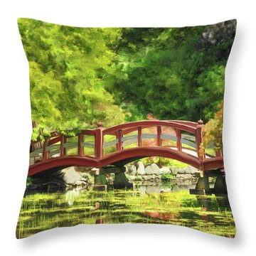 Serenity Bridge II Throw Pillow