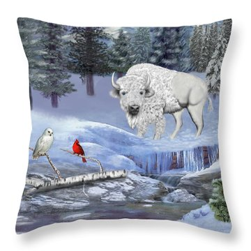 Serenity Throw Pillow by Glenn Holbrook