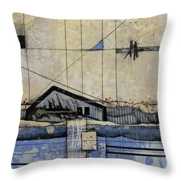 Serenity Home Throw Pillow