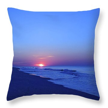 Serenity I I Throw Pillow by Newwwman