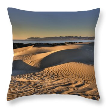 Serenity In The Dunes Throw Pillow