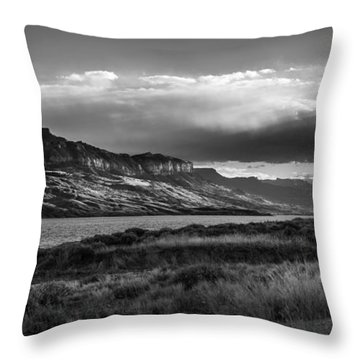 Throw Pillow featuring the photograph Serenity by Jason Moynihan