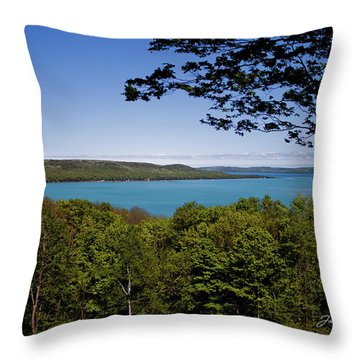 Throw Pillow featuring the photograph Serenity by Joann Copeland-Paul