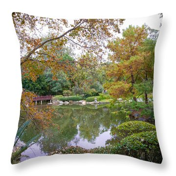 Throw Pillow featuring the photograph Serenity by Keith Hawley