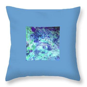 Serenity  Throw Pillow by Margalit Romano