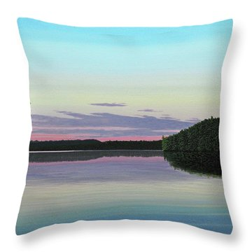 Serenity Skies Throw Pillow