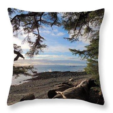 Serenity Surroundings  Throw Pillow