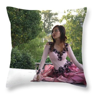 Serenity Throw Pillow by Tbone Oliver