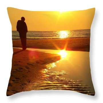 Serenity Throw Pillow by Trish Tritz