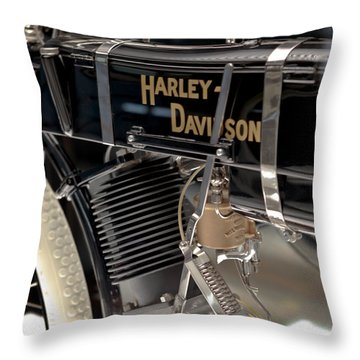 Serial Number One Throw Pillow
