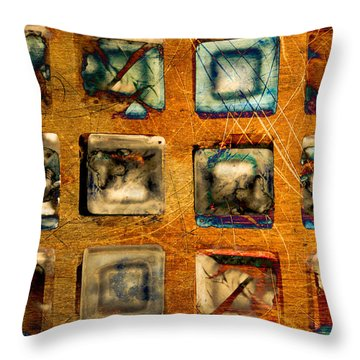 Serial Variation Throw Pillow