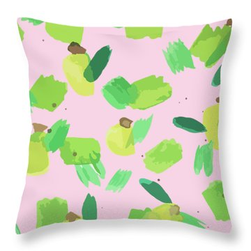Series Pink 007 Throw Pillow