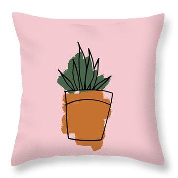 Series Pink 009 Throw Pillow