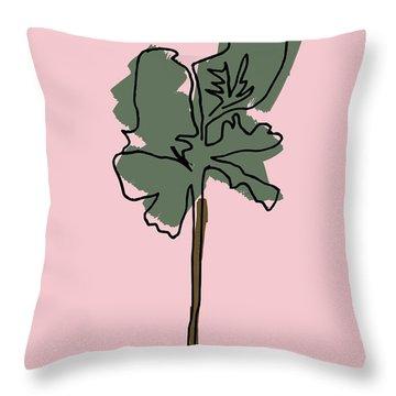 Series Pink 12 Throw Pillow