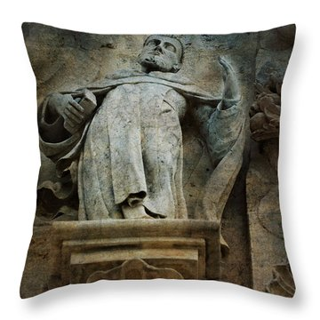 Sermon In Stone Throw Pillow