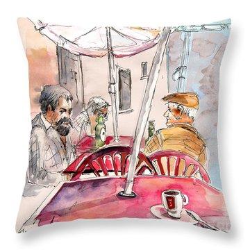 Serpa  Portugal 32 Throw Pillow by Miki De Goodaboom