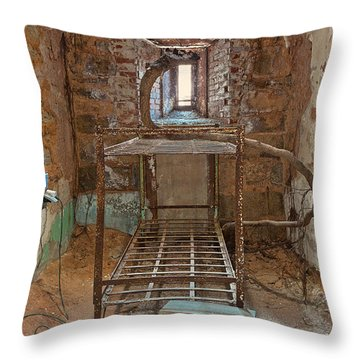 Serpent Cell Throw Pillow