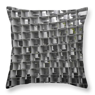 Serpentine Pavilion 02 Throw Pillow