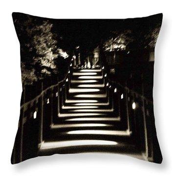 Serpentine Shadow Throw Pillow