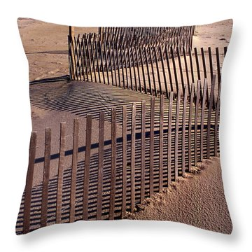 Serpentine Throw Pillow by Skip Willits
