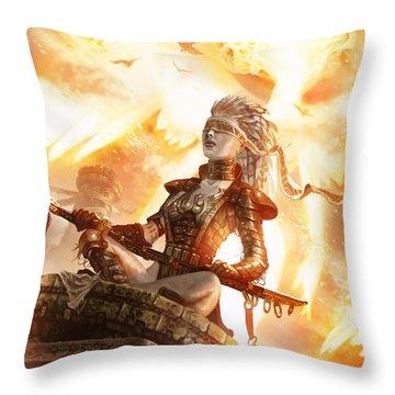 Serra Avatar Throw Pillow