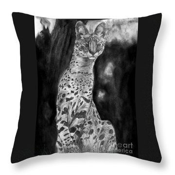 Servile Throw Pillow